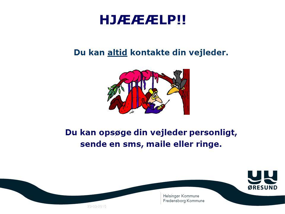 Helsingør Kommune Fredensborg Kommune 23-03-2015 De kommende år introduktionskurser virksomhedsbesøg gæstelærere praktik uddannelsessdage UEA-undervisning U-bog U-plan
