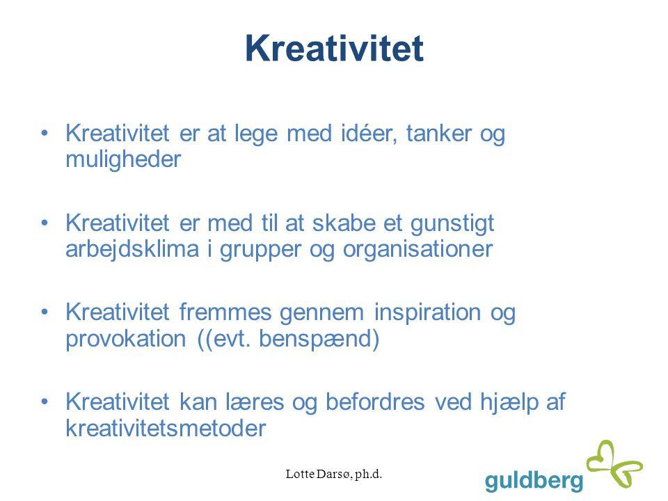 Innovation Innovation skal give merværdi for alle projektets stakeholders 1.Bryde mønstre 2.Udfordre vanetænkningen 3.
