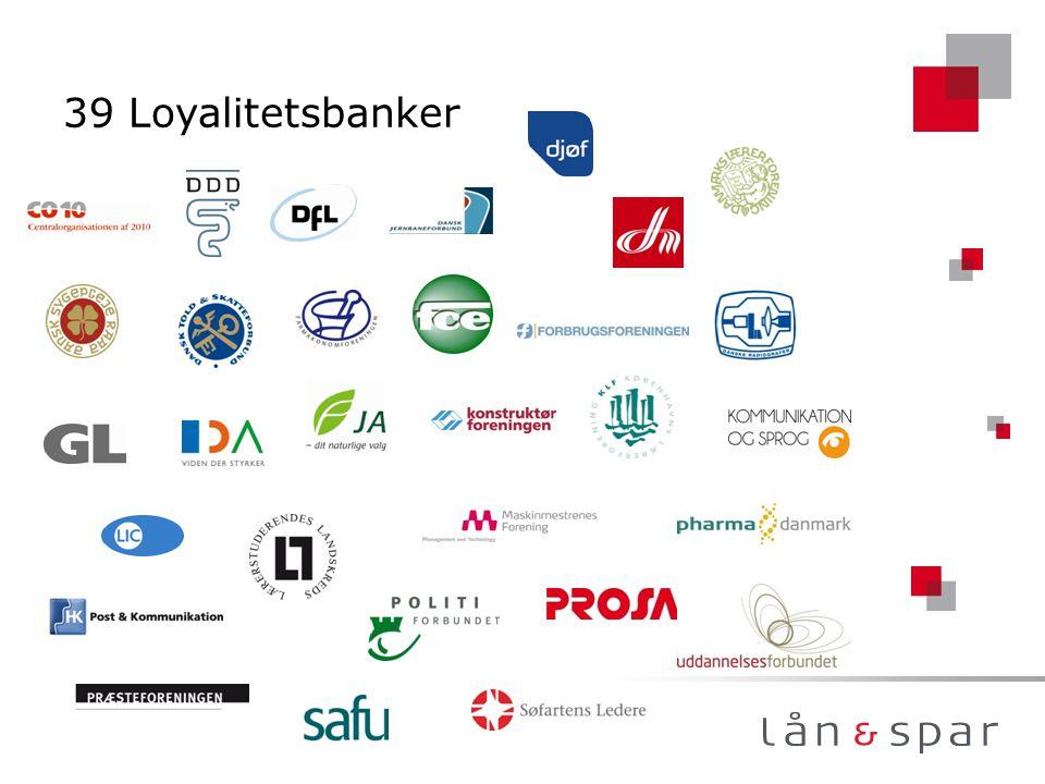 39 Loyalitetsbanker