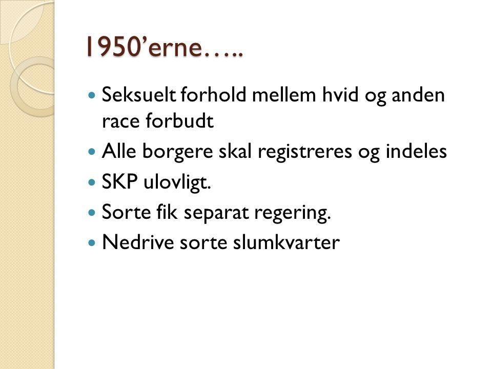 1950'erne…..