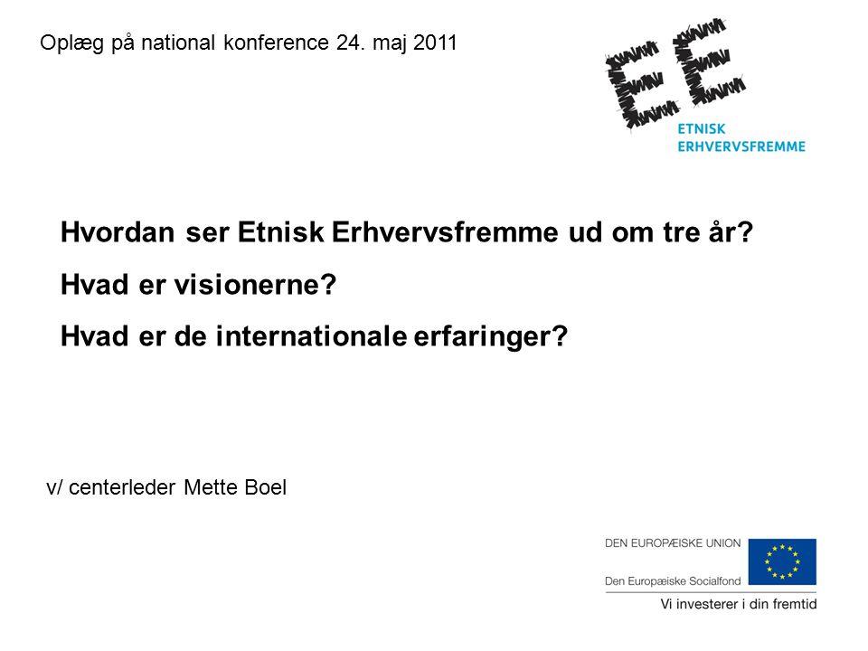 Oplæg på national konference 24.