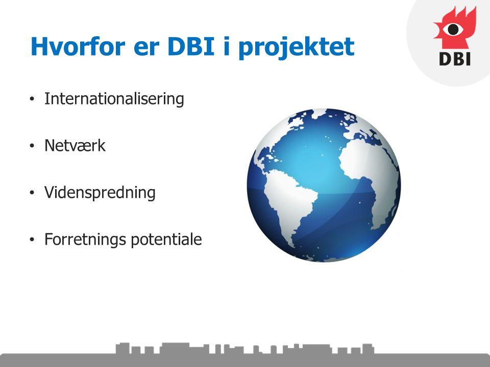 Hvorfor er DBI i projektet Internationalisering Netværk Videnspredning Forretnings potentiale