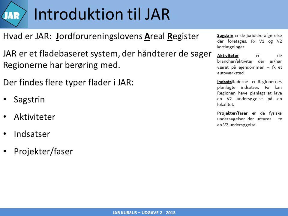JAR KURSUS – UDGAVE 2 - 2013 Introduktion til JAR Sagstrin er de juridiske afgørelse der foretages.