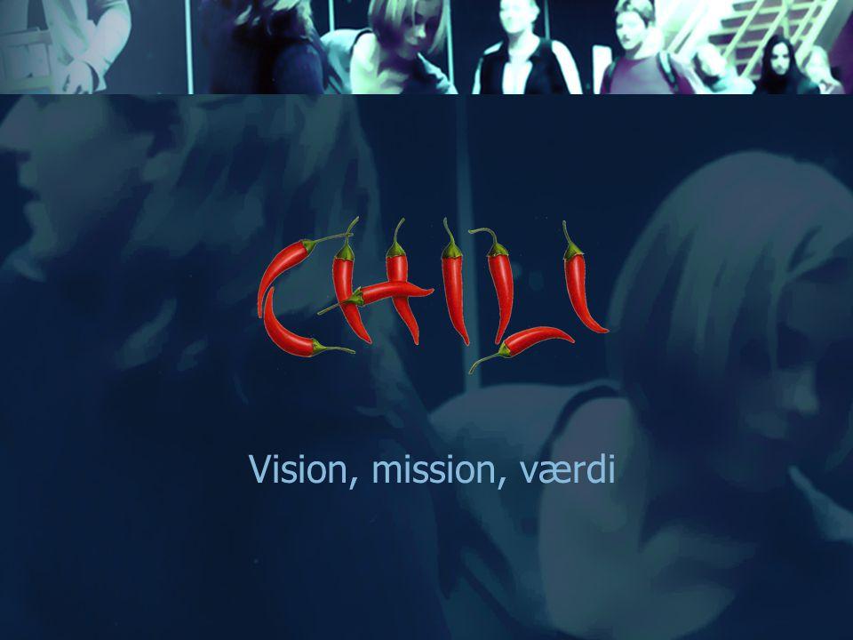 Vision, mission, værdi