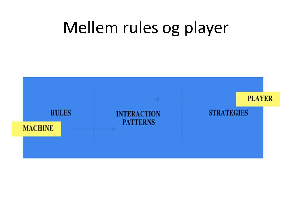 Mellem rules og player
