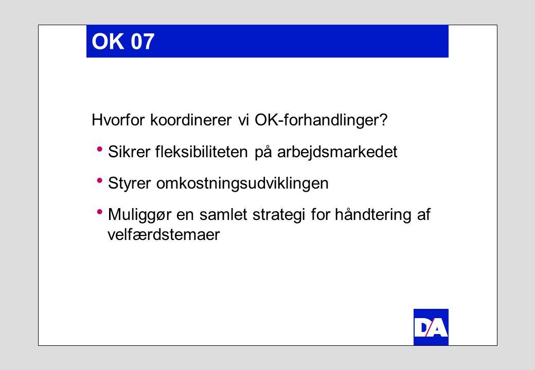 OK 07 Hvorfor koordinerer vi OK-forhandlinger.