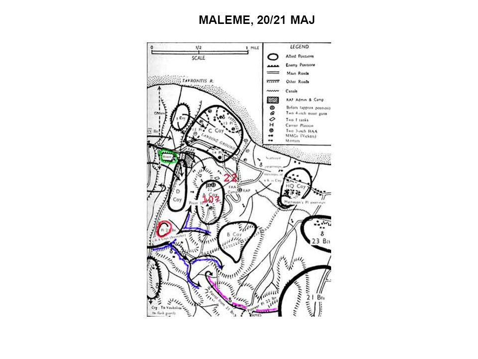 MALEME, 20/21 MAJ