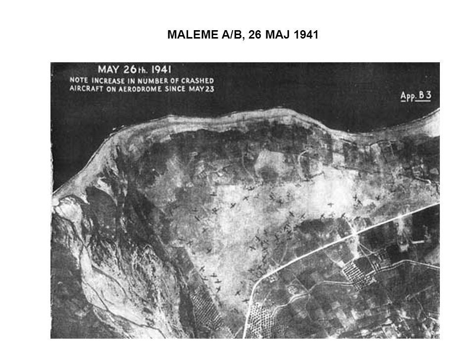 MALEME A/B, 26 MAJ 1941