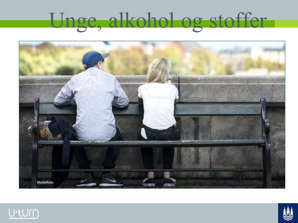 Unge, alkohol og stoffer
