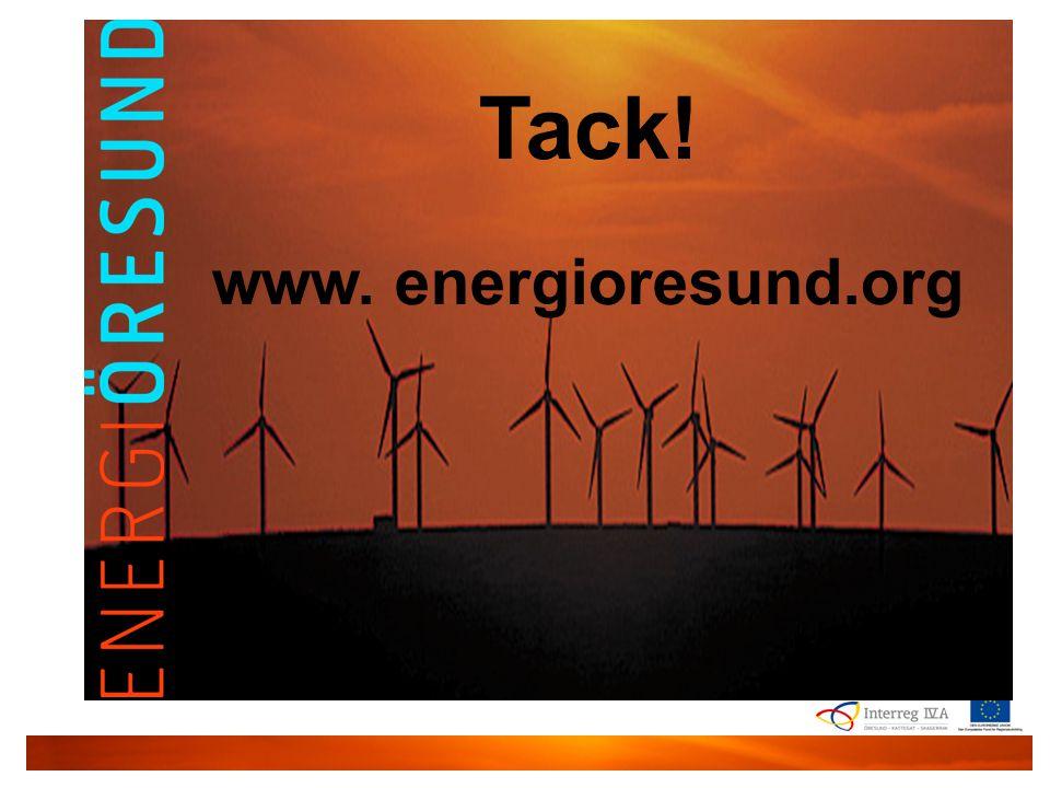 Energi Øresund | 28. marts | 2011 | Kenneth Løvholt | Gate 21 Tack! www. energioresund.org