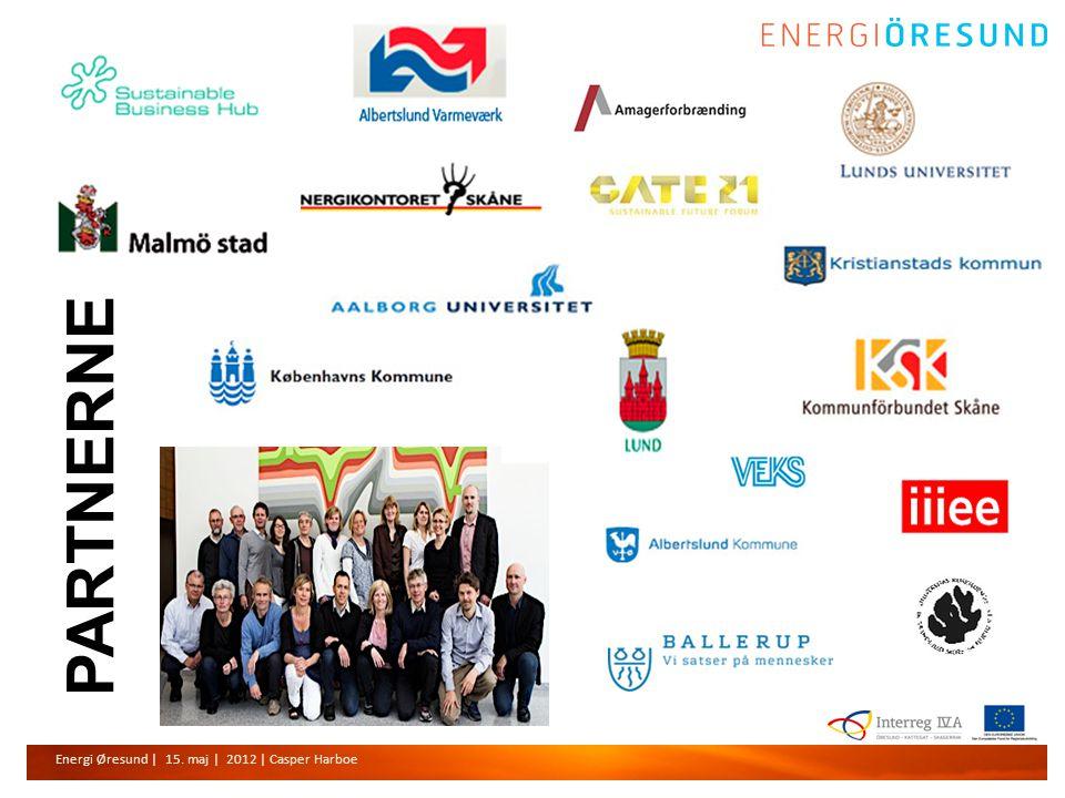 Energi Øresund | 15. maj | 2012 | Casper Harboe PARTNERNE