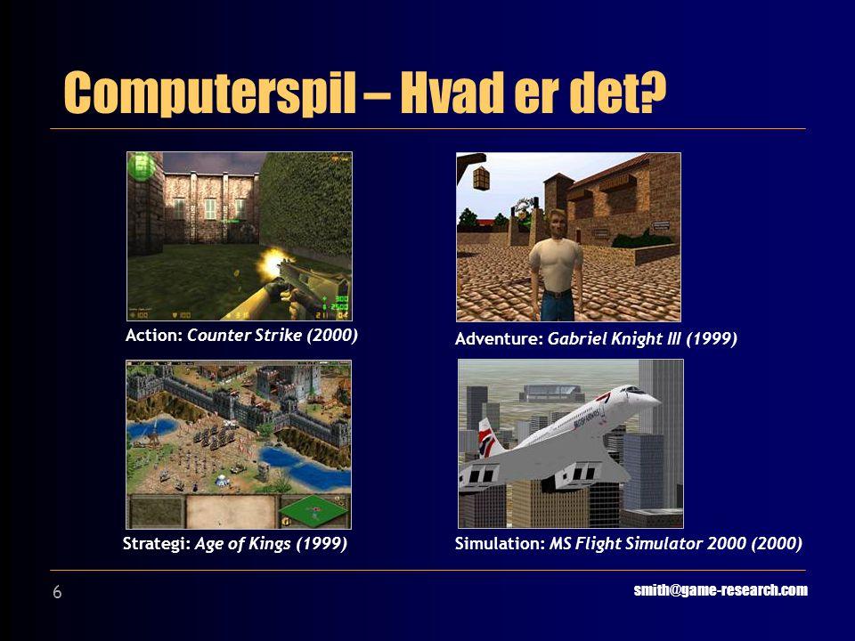 6 Computerspil – Hvad er det.