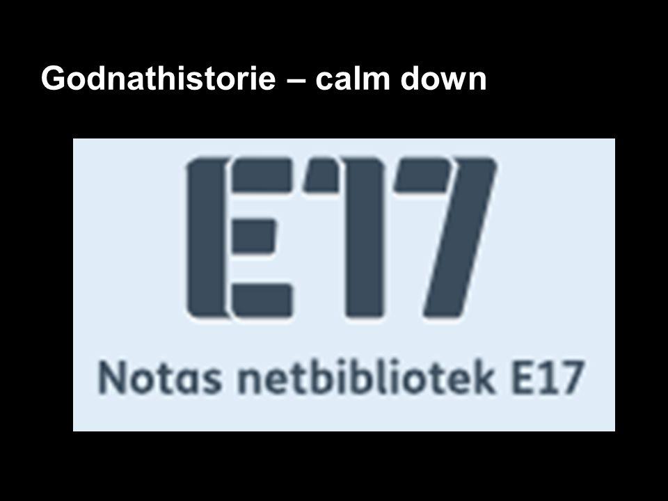 Godnathistorie – calm down