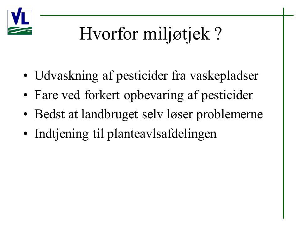 Hvorfor miljøtjek .