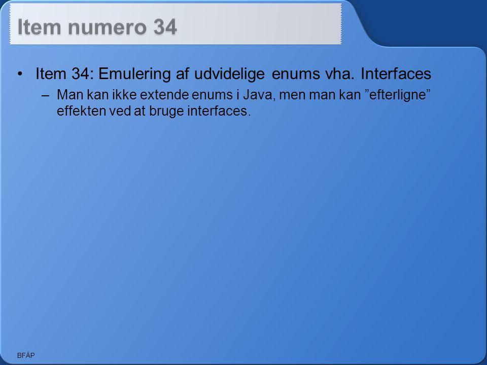 BFÅP Item 34: Emulering af udvidelige enums vha.