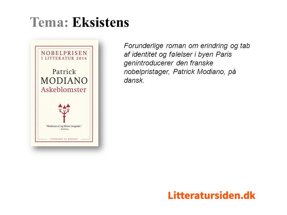 Forunderlige roman om erindring og tab af identitet og følelser i byen Paris genintroducerer den franske nobelpristager, Patrick Modiano, på dansk.
