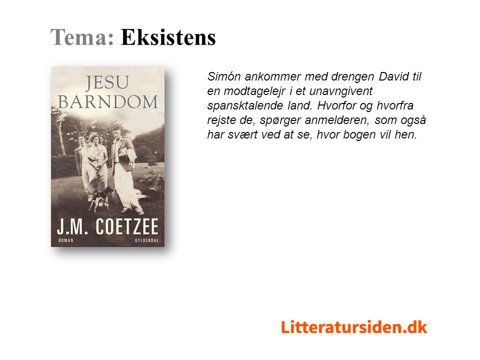 Simón ankommer med drengen David til en modtagelejr i et unavngivent spansktalende land.