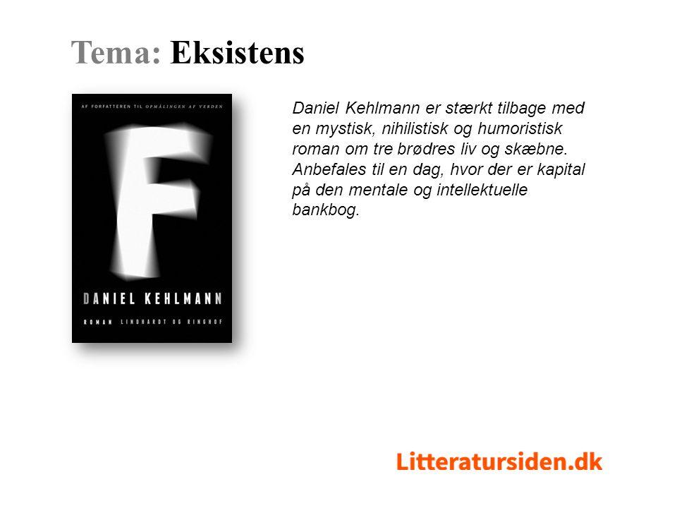 Daniel Kehlmann er stærkt tilbage med en mystisk, nihilistisk og humoristisk roman om tre brødres liv og skæbne.
