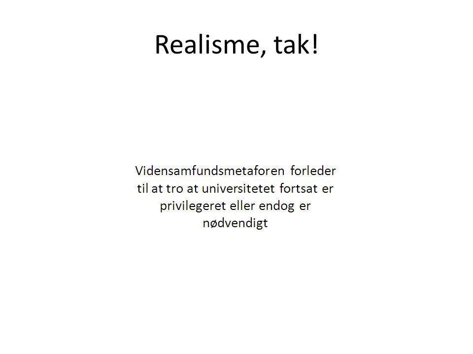 Realisme, tak!