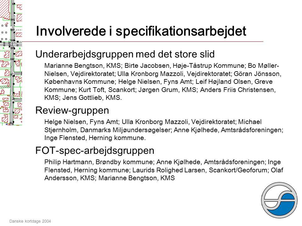 Danske kortdage 2004 FOT-Objekt # 207 '#12'-#207'#11' –#207'#10' -#207 Anden vej ID på FOT-objekter Opbygning af egne referencesystemer Tunnel