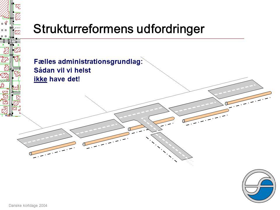 Danske kortdage 2004 Geodata-infrastruktur Det kedelige Det sjove Grundlæggende geodata (kort- og registerinformation), normer og standarder mm., som udgør en fælles forudsætning for......