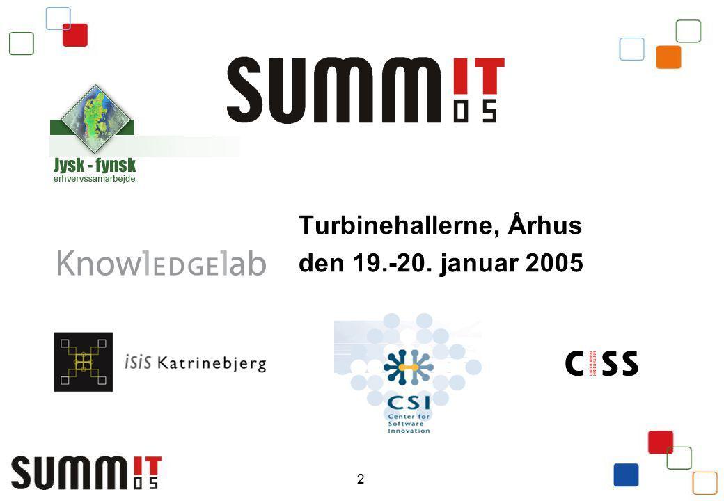 2 Turbinehallerne, Århus den 19.-20. januar 2005