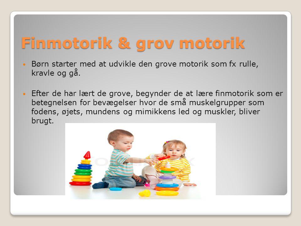 Vækst Barnet vokser især meget det første år.