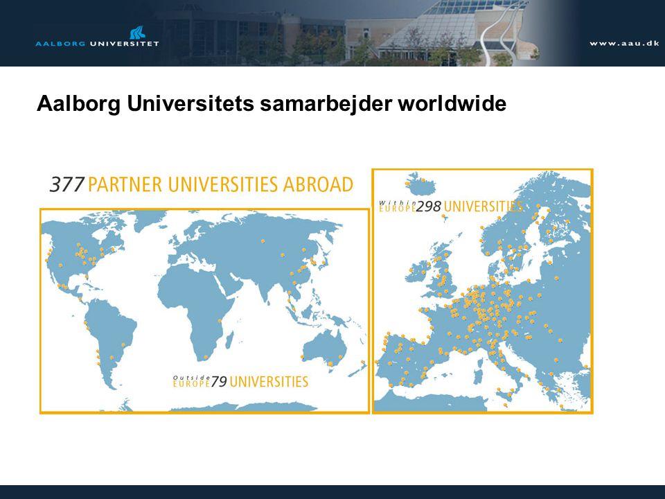 Aalborg Universitets samarbejder worldwide
