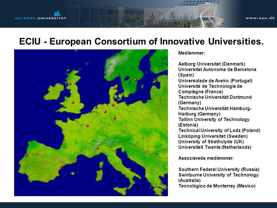 7 ECIU - European Consortium of Innovative Universities.