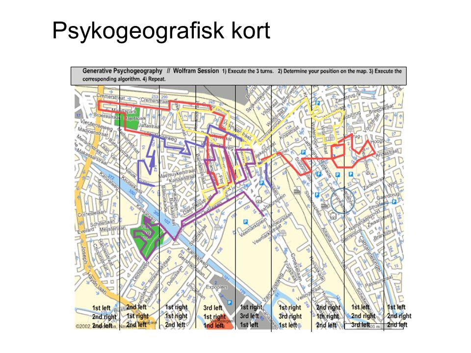 Psykogeografisk kort