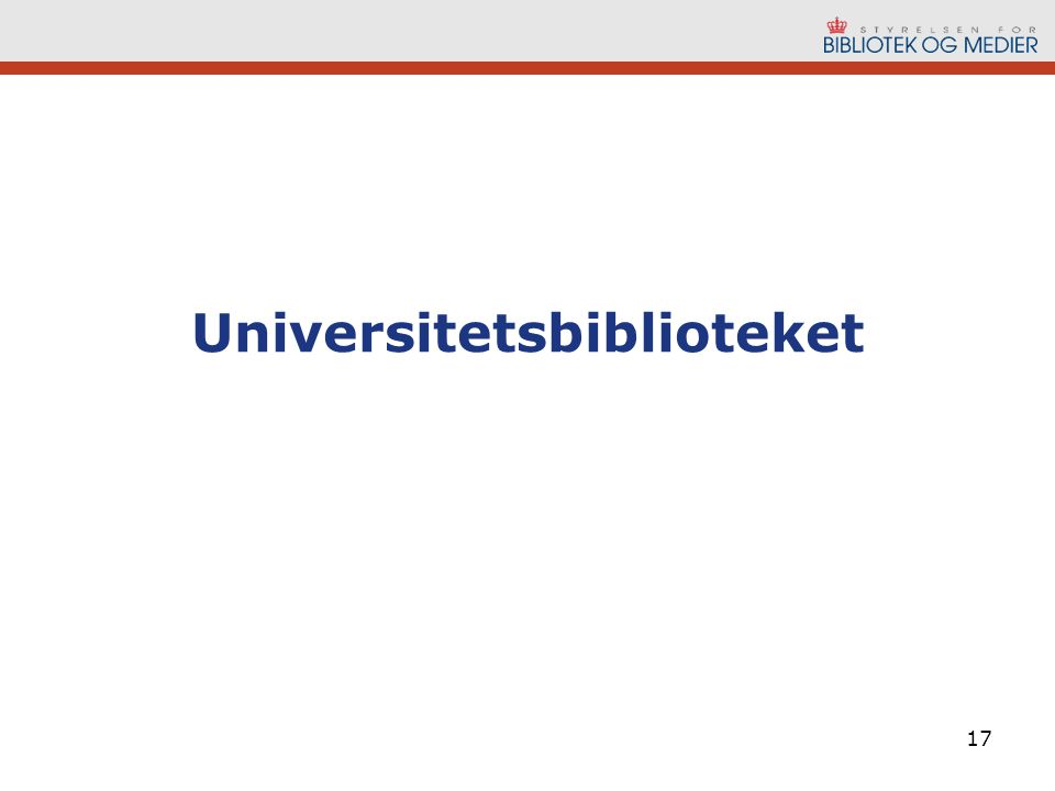 Universitetsbiblioteket 17