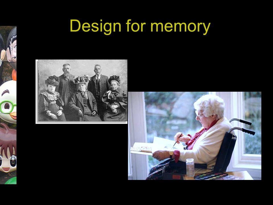 Design for memory
