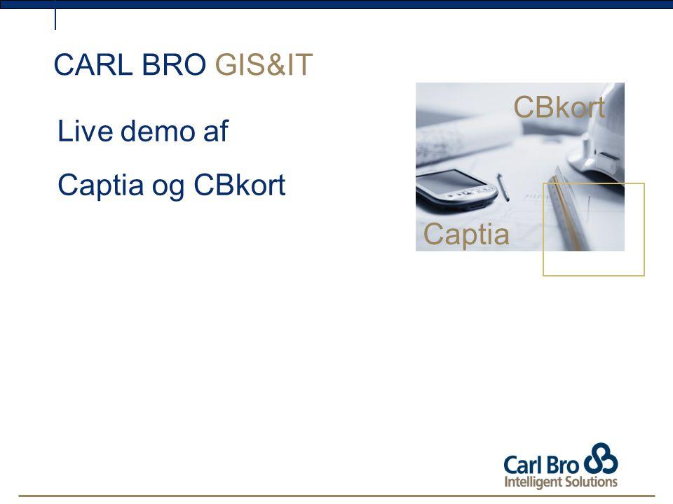 CARL BRO GIS&IT CBkort Live demo af Captia og CBkort Captia