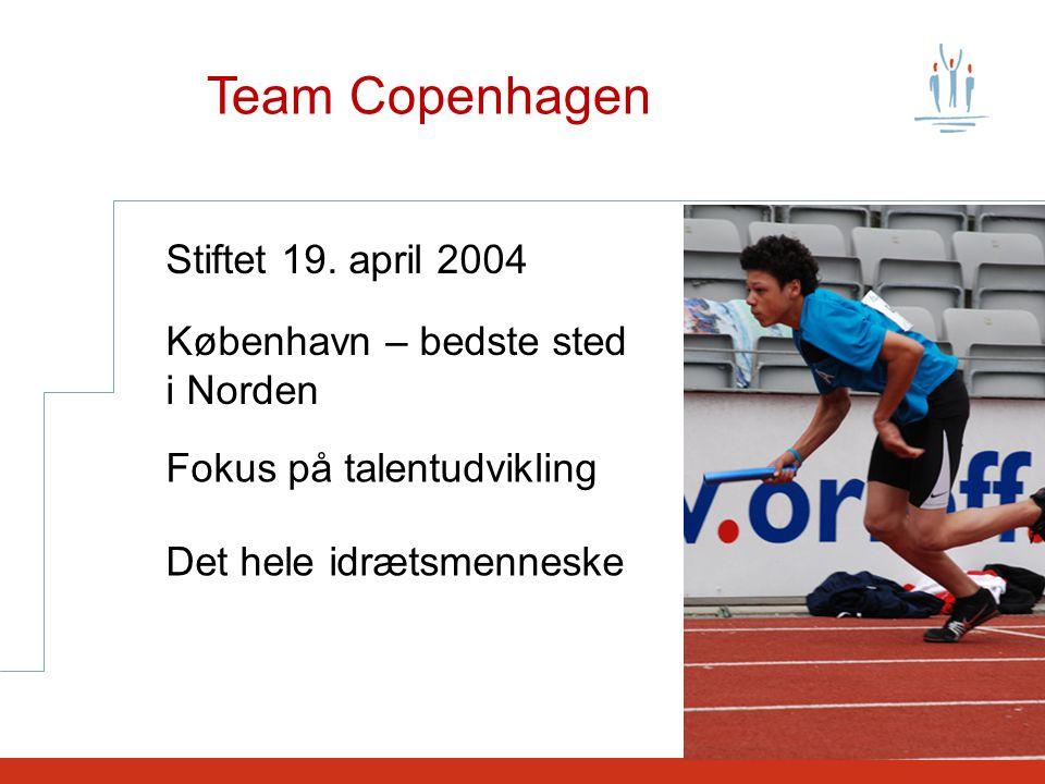 Team Copenhagen Stiftet 19.