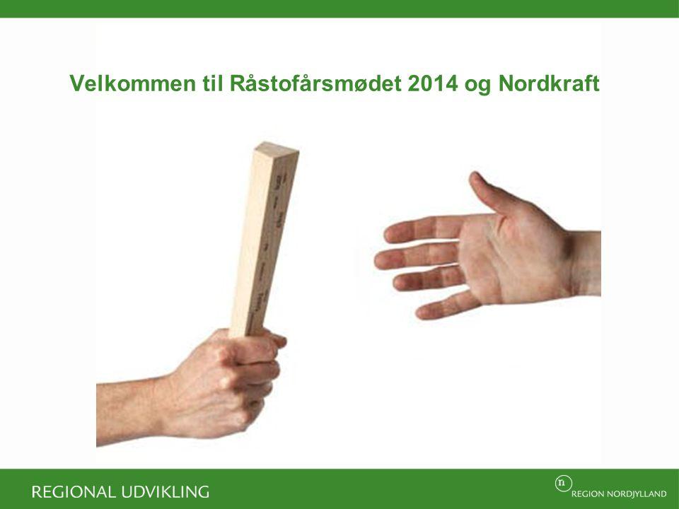Velkommen til Råstofårsmødet 2014 og Nordkraft