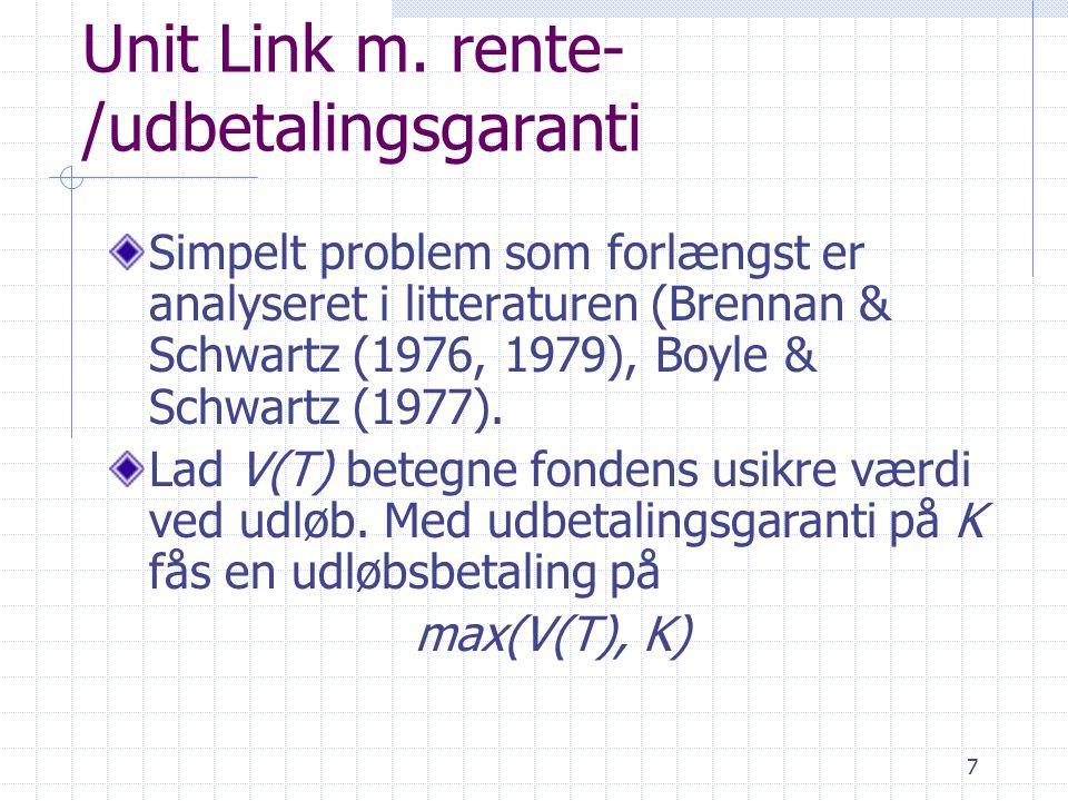 7 Unit Link m.