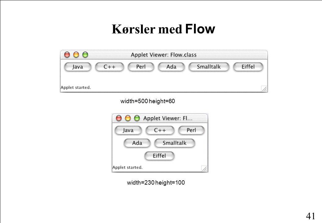 41 Kørsler med Flow width=500 height=60 width=230 height=100