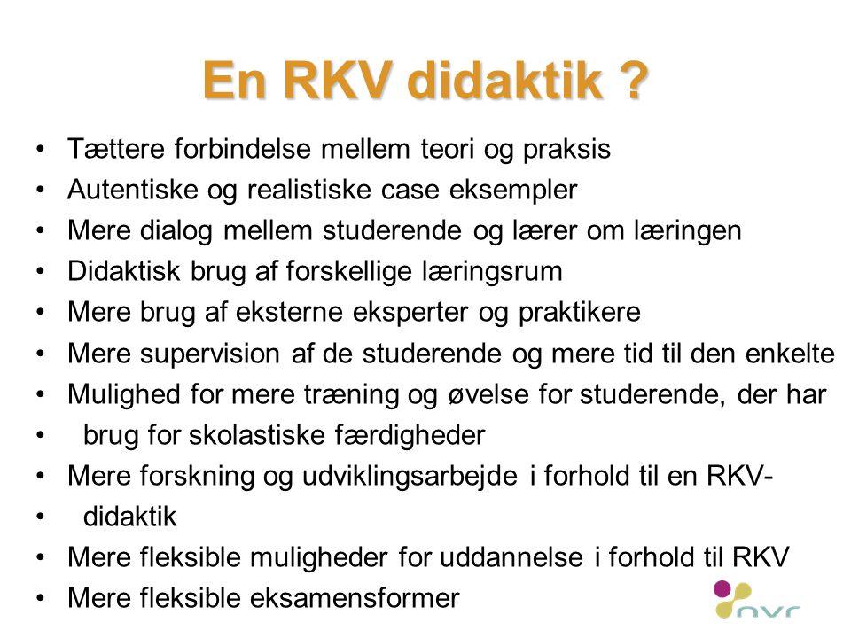 En RKV didaktik .