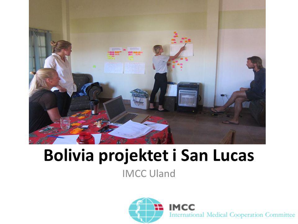 Bolivia projektet i San Lucas IMCC Uland
