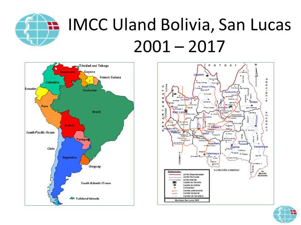 IMCC Uland Bolivia, San Lucas 2001 – 2017