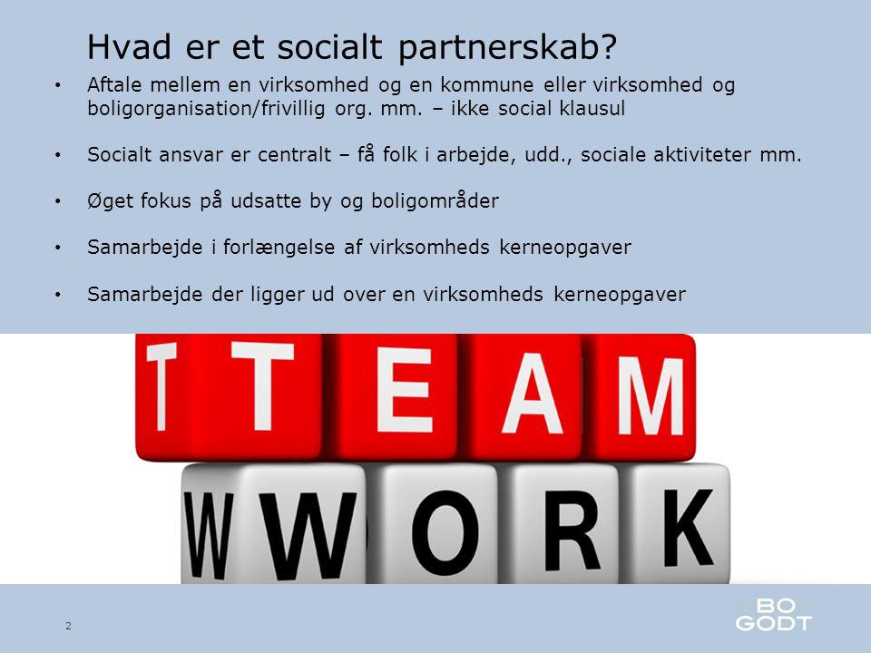 Hvad er et socialt partnerskab.