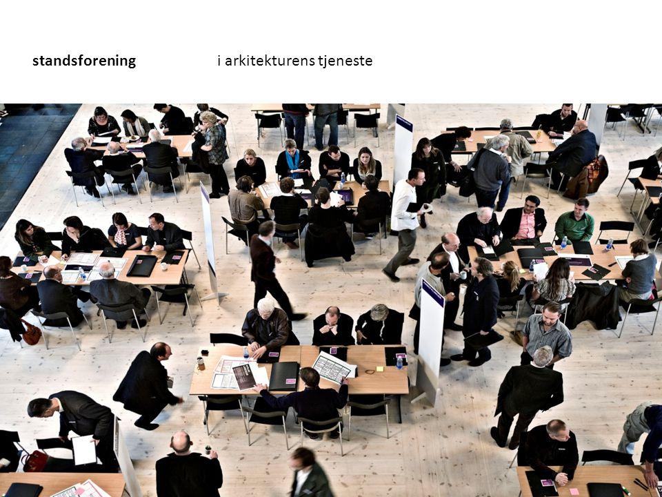 standsforening i arkitekturens tjeneste