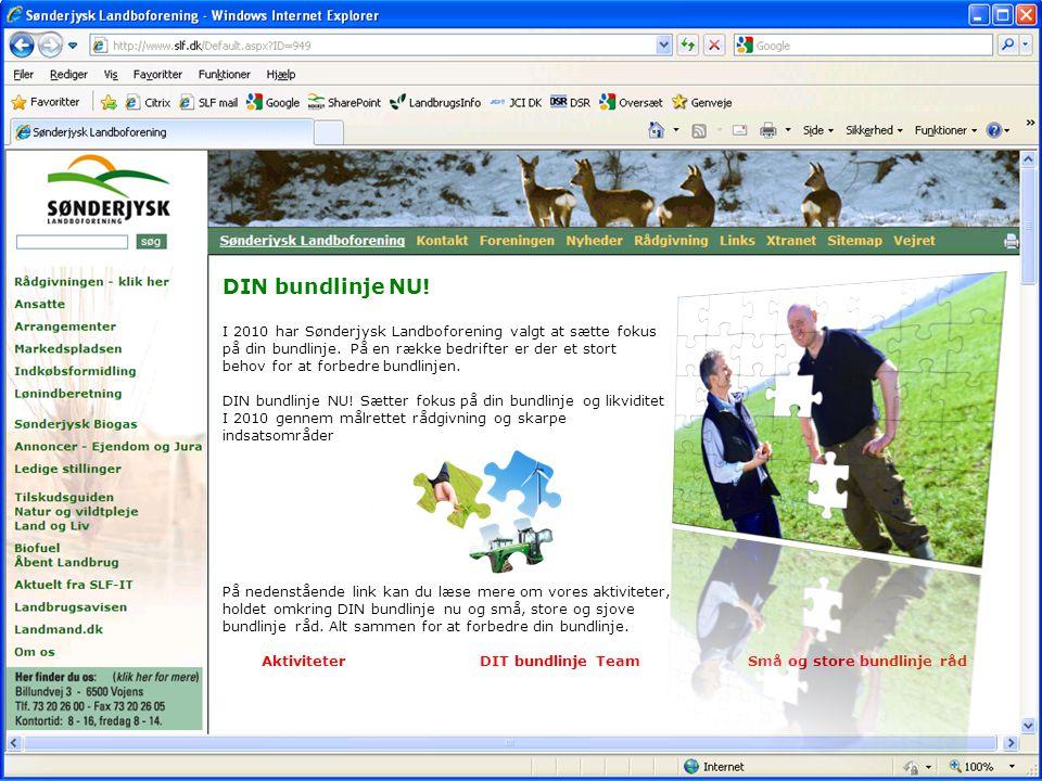 www.slf.dk dinbundlinje.nu Nr. 13 DIN bundlinje NU.