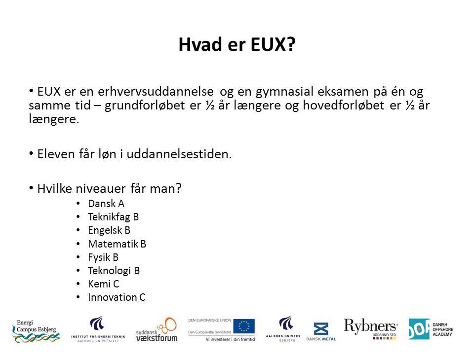 Hvad er EUX.