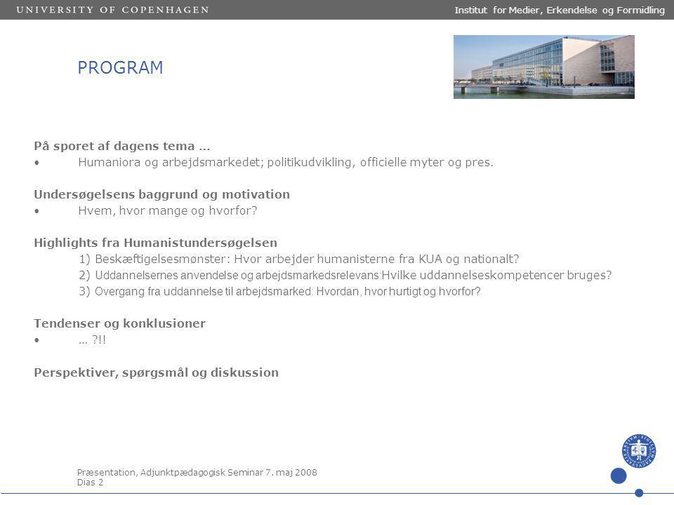 Præsentation, Adjunktpædagogisk Seminar 7.
