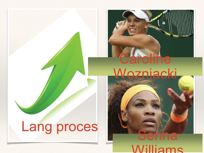 Lang proces Serina Williams Caroline Wozniacki