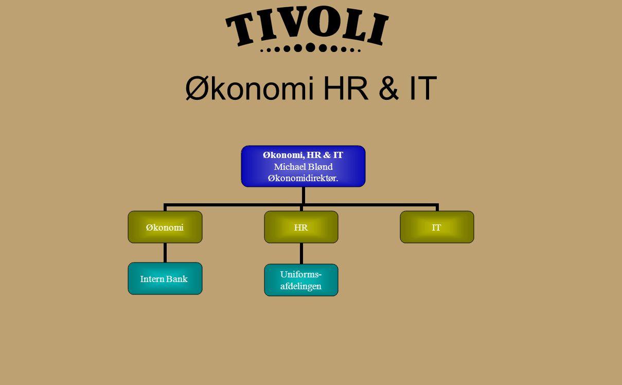 Økonomi HR & IT Økonomi, HR & IT Michael Blønd Økonomidirektør.