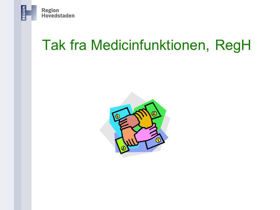 Tak fra Medicinfunktionen, RegH