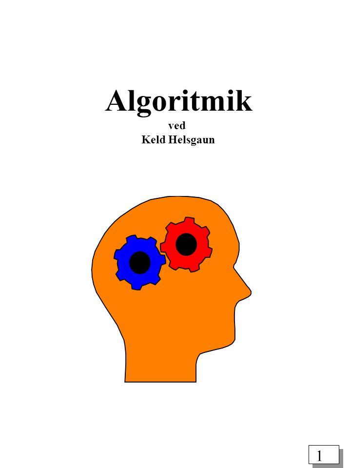 1 Algoritmik ved Keld Helsgaun