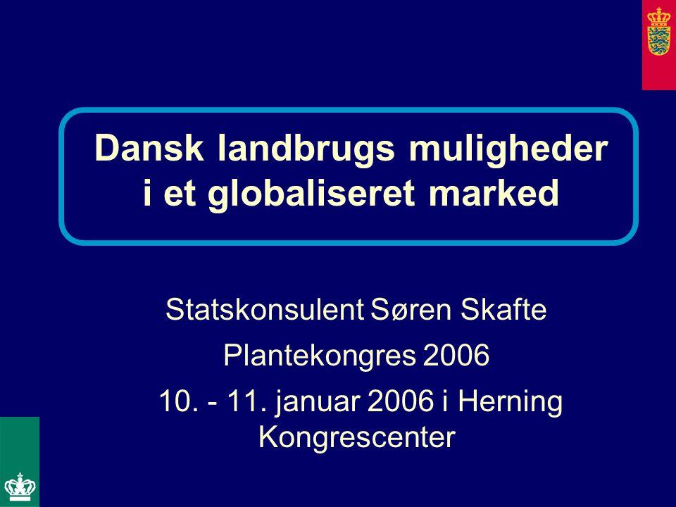 Statskonsulent Søren Skafte Plantekongres 2006 10.
